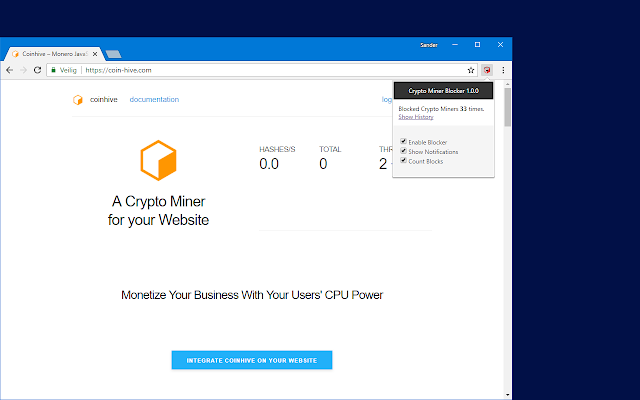 how to mining cryptocurrency on chrome extension