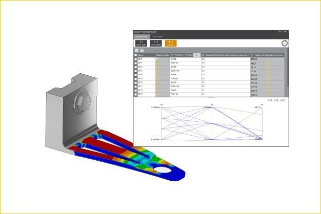 ANSYS - Параметрическая оптимизация конструкции кронштейна