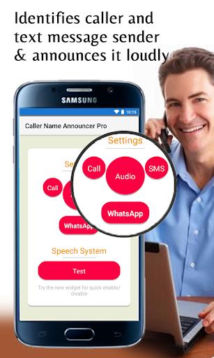 caller name announcer  : hands-free pro screenshot 1