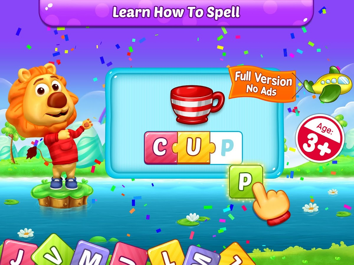 What does my phone number spell - Abc Spelling Spell Phonics Screenshot