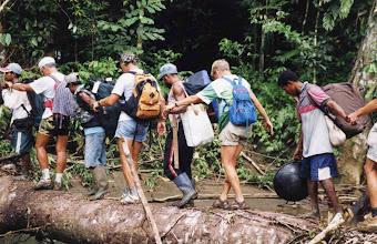 Photo: Trekking Baliem vallei.