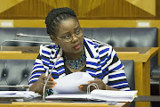 Communications Minister Mmamoloko Kubayi-Nguabe