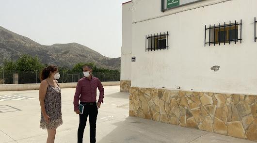 Educación inicia obras de climatización pasiva en cinco centros educativos