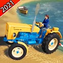 Modern Farming Tractor Simulator 3D 2021 icon