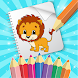 Coloring Games -  Toddler Coloring Book for Kids