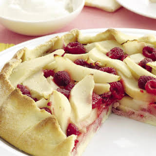 Pear and Raspberry Pie.