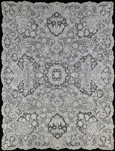 Lace coverlet [King Baudouin Foundation]