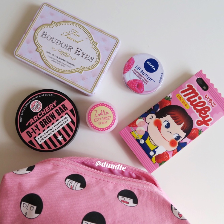 Pink Girl Pouch