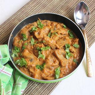 Goan Mushroom Xacuti Recipe