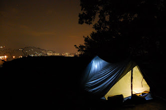 Photo: A perfect tent site