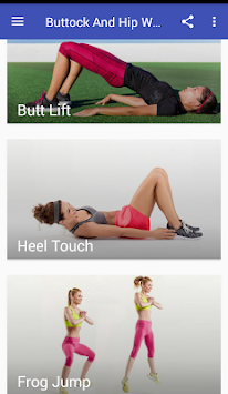 Buttock And Hip Workouts