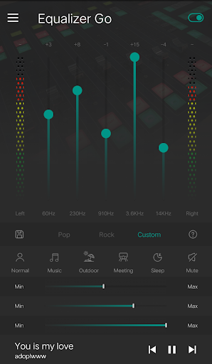 Equalizer Bass Booster Pro screenshot 3