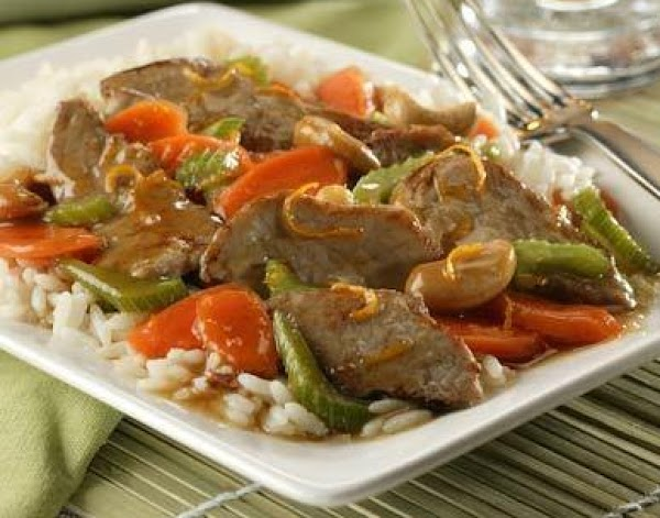 Orange Stir Fry Recipe