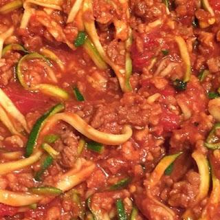 Spaghetti Sauce With Zucchini Recipes.