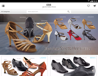 Exotic Salsa Shoes - náhled