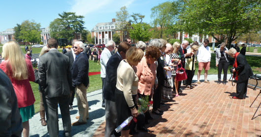 Greek Centennial Garden Dedication