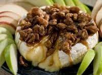 Baked Brie W/ Pecans And Brown Sugar
