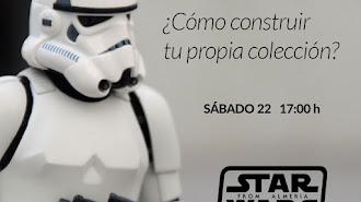 Cartel de la Jornada Star Wars en el  Museo de Almería.