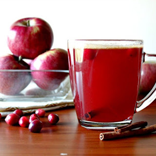 Easy Hot Spiced Cranberry Cider