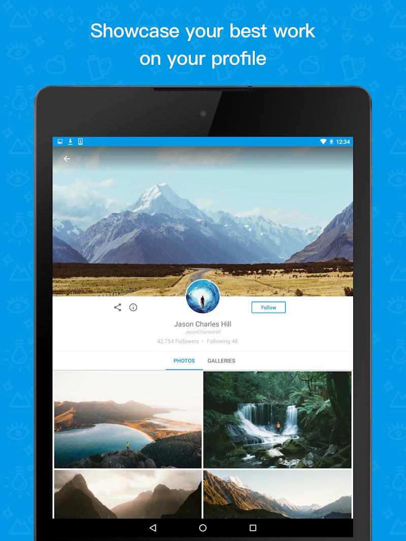 500px – Discover great photos Screenshot 4