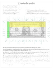 Photo: JPG version of my first diagram & instruction sheet. To get a PDF version that will print to proper scale, join the moneyfolders_unite Yahoo! group (http://groups.yahoo.com/group/moneyfolders_unite/)  Use the diagram in conjunction with my tutorial video, available in this photo gallery.