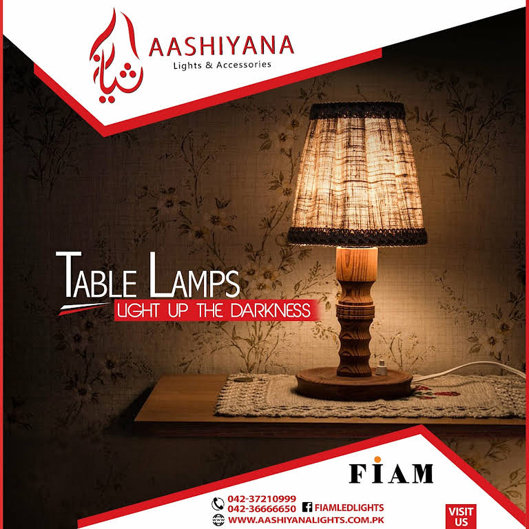 Aashiyana Lights آشیانہ لائٹس - Lighting Store in Lahore