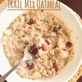 Trail Mix Oatmeal.