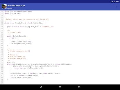 ForkHub for GitHub Screenshot 10
