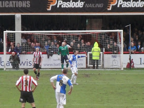 Photo: 26/02/11 v Bristol Rovers (Football League Div 1) 1-0 - contributed by Pete Collins