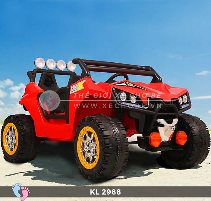 Xe ô tô điện địa hình trẻ em KL-2988 1