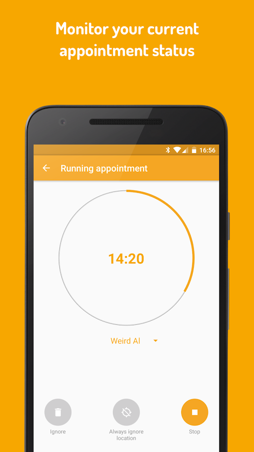 SamTime - Auto Time Tracker- screenshot