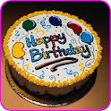 اكتب اسمك في تورتة عيد ميلاد icon