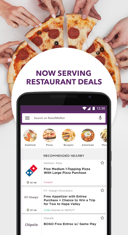 Dominos coupons retailmenot