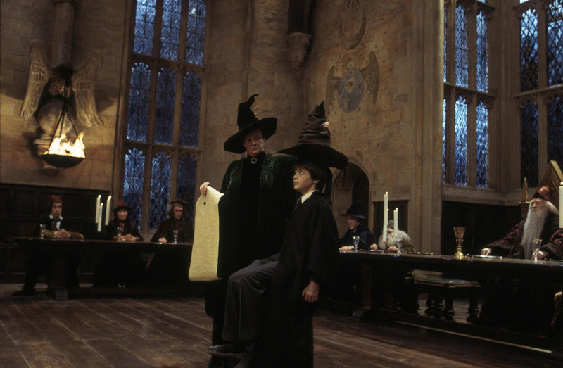 Photo: Harry Potter and the Sorcerer's Stone - The Sorting Ceremony