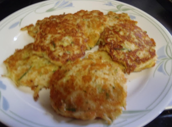 Zucchini Hashbrown Cakes Recipe