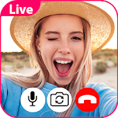 Fake:chat video call & live icon