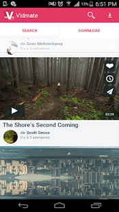Free downloader video vid mate screenshot