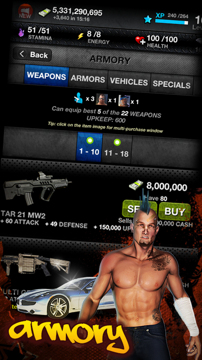 Downtown Mafia (RPG) - Free- screenshot