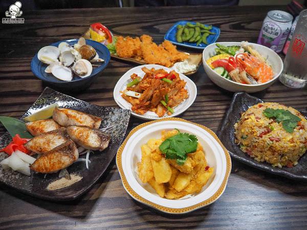北高雄聚餐最推薦小料理食堂,鮮味日式餐點、深夜食堂、海鮮料理 X 隱藏版宵夜場套餐