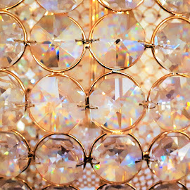 The sparkling crystals by Svetlana Saenkova - Instagram & Mobile Android ( macro, crystals, round, glitter, detail, rows,  )