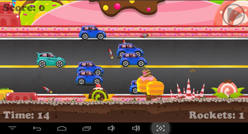 Candy Car Crusher Race