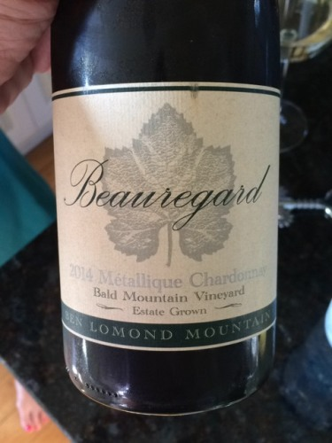 Logo for Beauregard Bald Mtn. Chardonnay