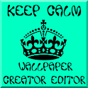 Keep Calm Wallpaper Creator icon