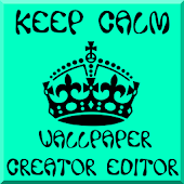 Keep Calm Wallpaper Creator