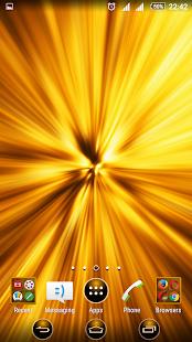 Big Bang Yellow XP Theme - náhled