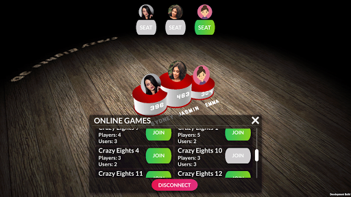 Crazy Eights 3D  screenshots 4