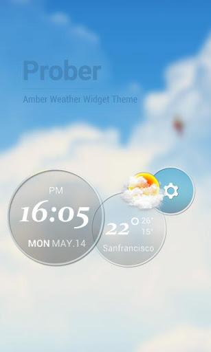 Moto Blur Style Elegant Clock1