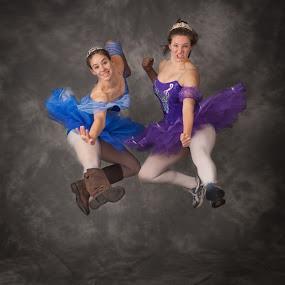 Martial Ballet by Bill  Brokaw - Sports & Fitness Other Sports ( kick, ballet, women, boots, jump )