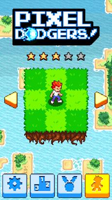 Pixel Dodgers screenshot