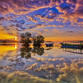 Landscape_Lombok by Made Thee - Landscapes Sunsets & Sunrises